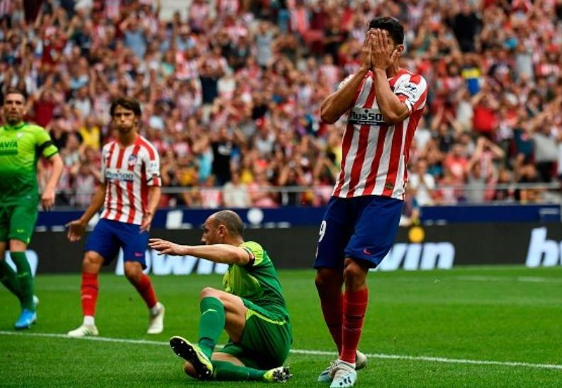 西蒙尼时代首次,马竞在西甲比赛的前20分钟丢了两球