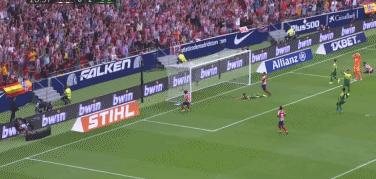 GIF:费利克斯接传球轻松破门,马竞1-2暂落后