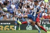 武磊首发失良机梅伦多进球被吹,西班牙人0-3格拉纳达
