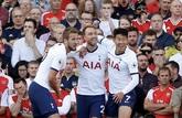 半场:埃里克森凯恩破门拉卡泽特进球,阿森纳1-2热刺