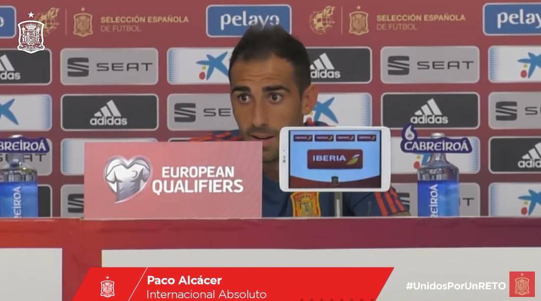 帕科:想入选国家队,首先得在俱乐部有出场时间