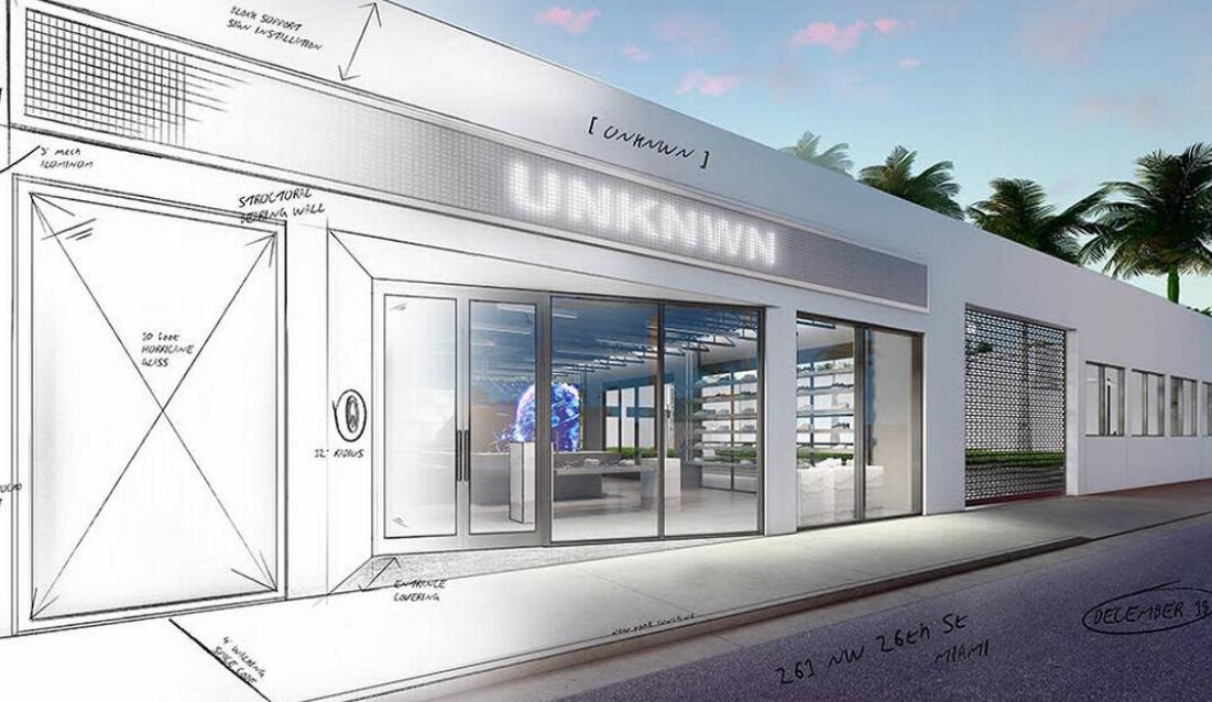 詹姆斯投资的前卫概念店将于12月份在迈阿密开业