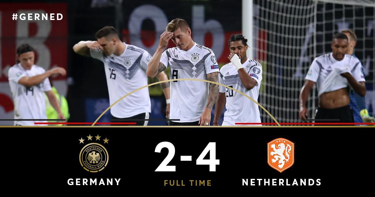 下半场被打爆!德国7年来首次正赛单场丢4球