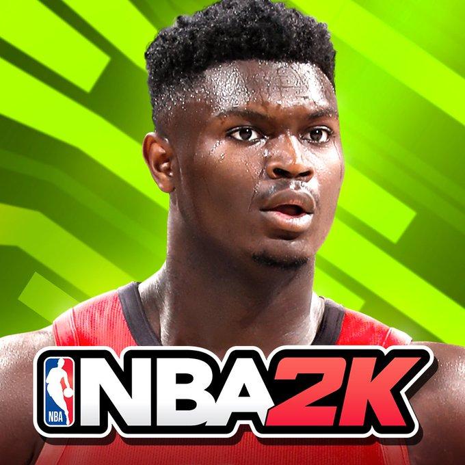 蔡恩-威廉森成为NBA2K手机游戏封面球员