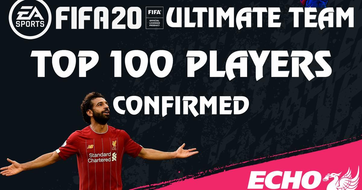 看看都有谁!FIFA20能力值前100球员公布