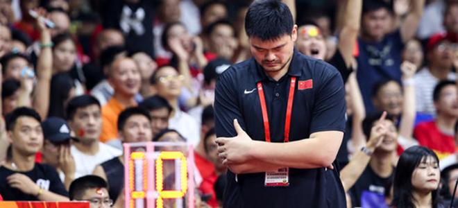 谁该为中国男篮失利担责?姚明:我!