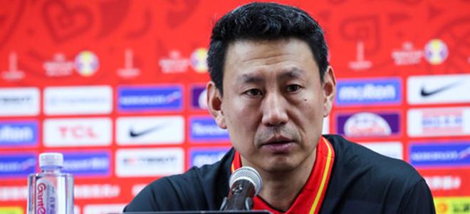 李楠:我们的球队一直在进步,球员要继续努力