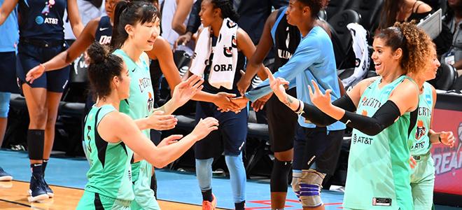 场均3.2分0.8篮板,韩旭结束个人首个WNBA赛季