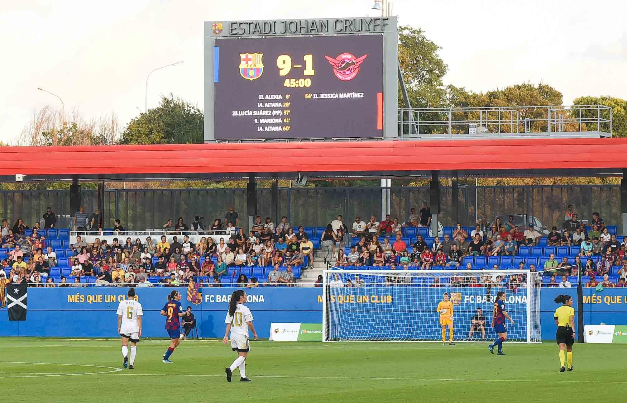 弗洛伦蒂诺:巴萨女足是西班牙最好的女足球队
