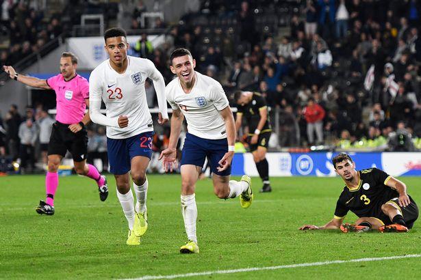 英格兰U21主帅谈福登梅开二度:他还没拿出自己最佳表现