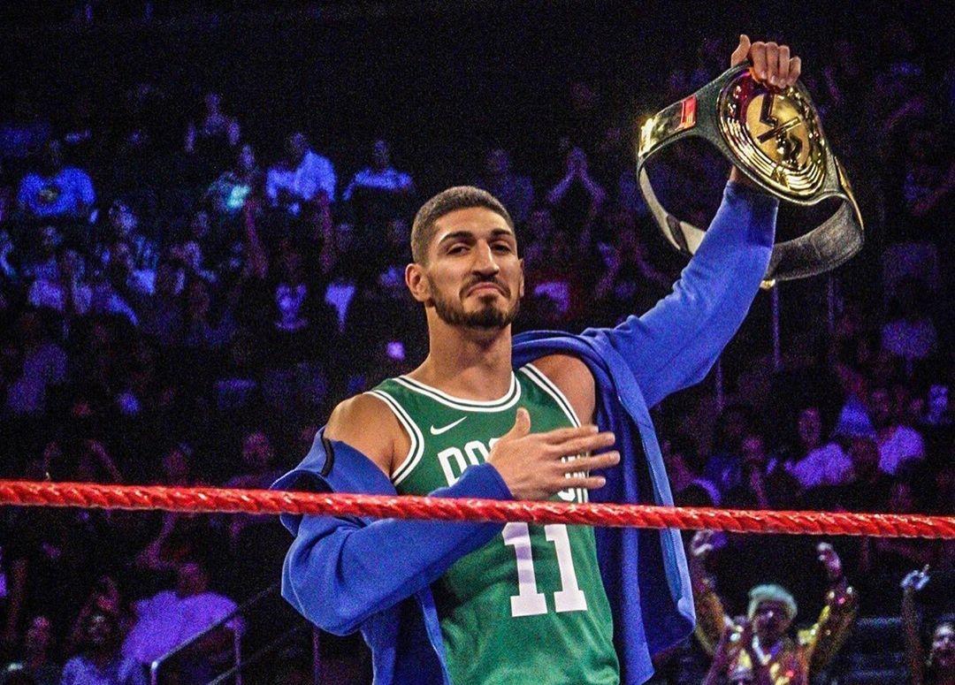 【影片】影帝拳皇?Kanter贏得WWE格鬥比賽金腰帶,隨後將其輸掉