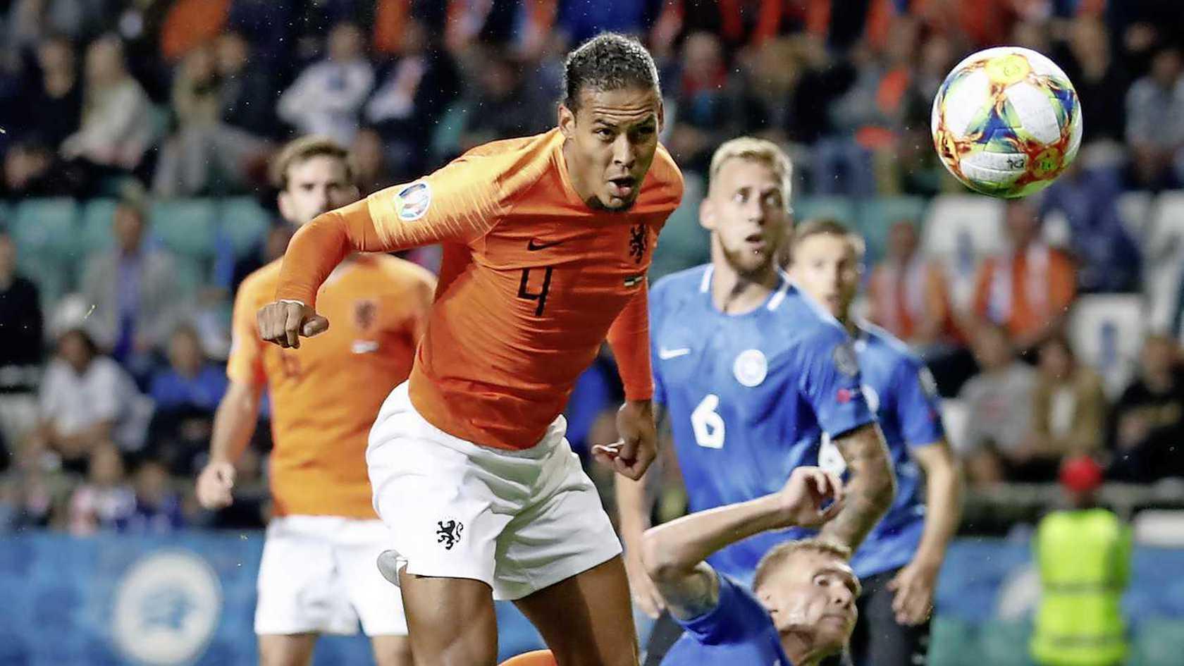 荷兰收获两连胜!范戴克:这个夜间不错嘛