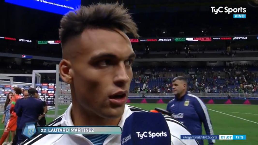 劳塔罗:能入选阿根廷国家队,艰辛是常人看不到的
