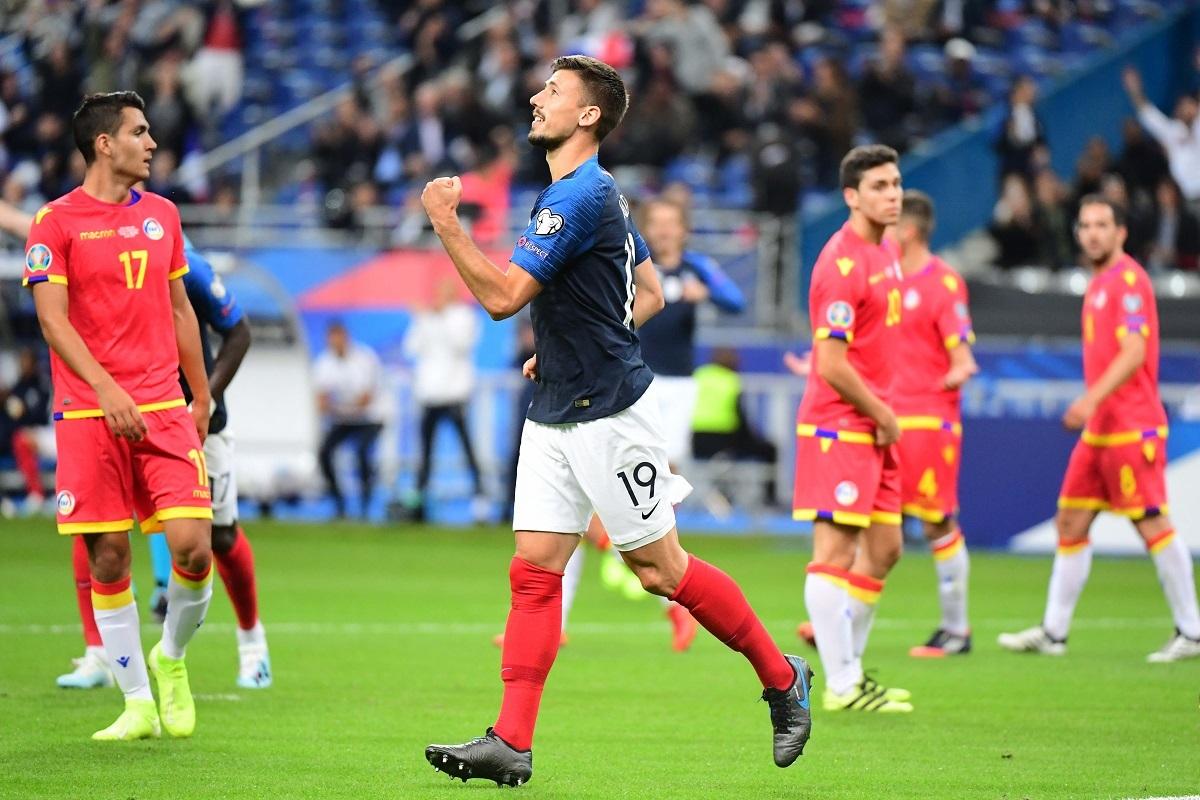 朗格莱:很骄傲打入国家队首球,庆祝动作有点欠缺没关系