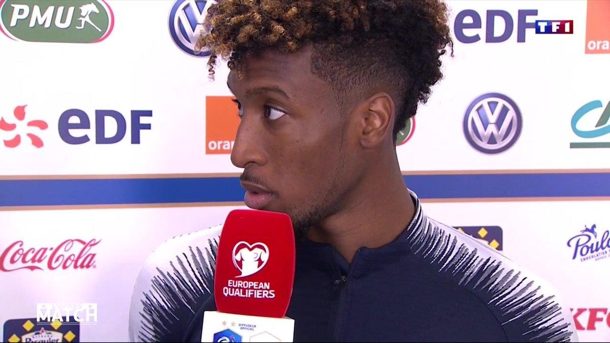 科曼:很高兴在法国队出场时间增多,要回报德尚信任