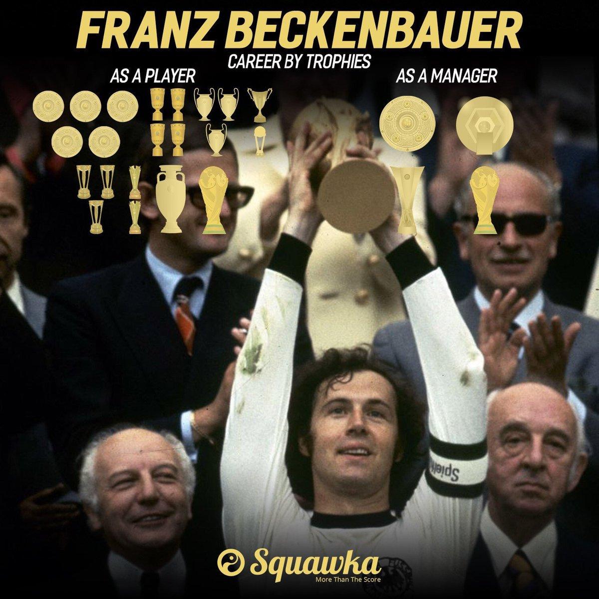 做队员和教练都拿过世界杯,贝肯鲍尔74岁生日喜悦!