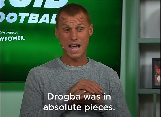 蓝军旧将:在穆里尼奥07年离开球队时,德罗巴崩溃了