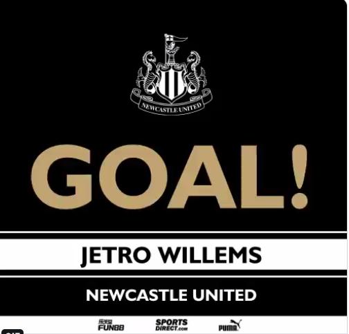 GIF:威廉斯抽射进球,纽卡1-0领先利物浦