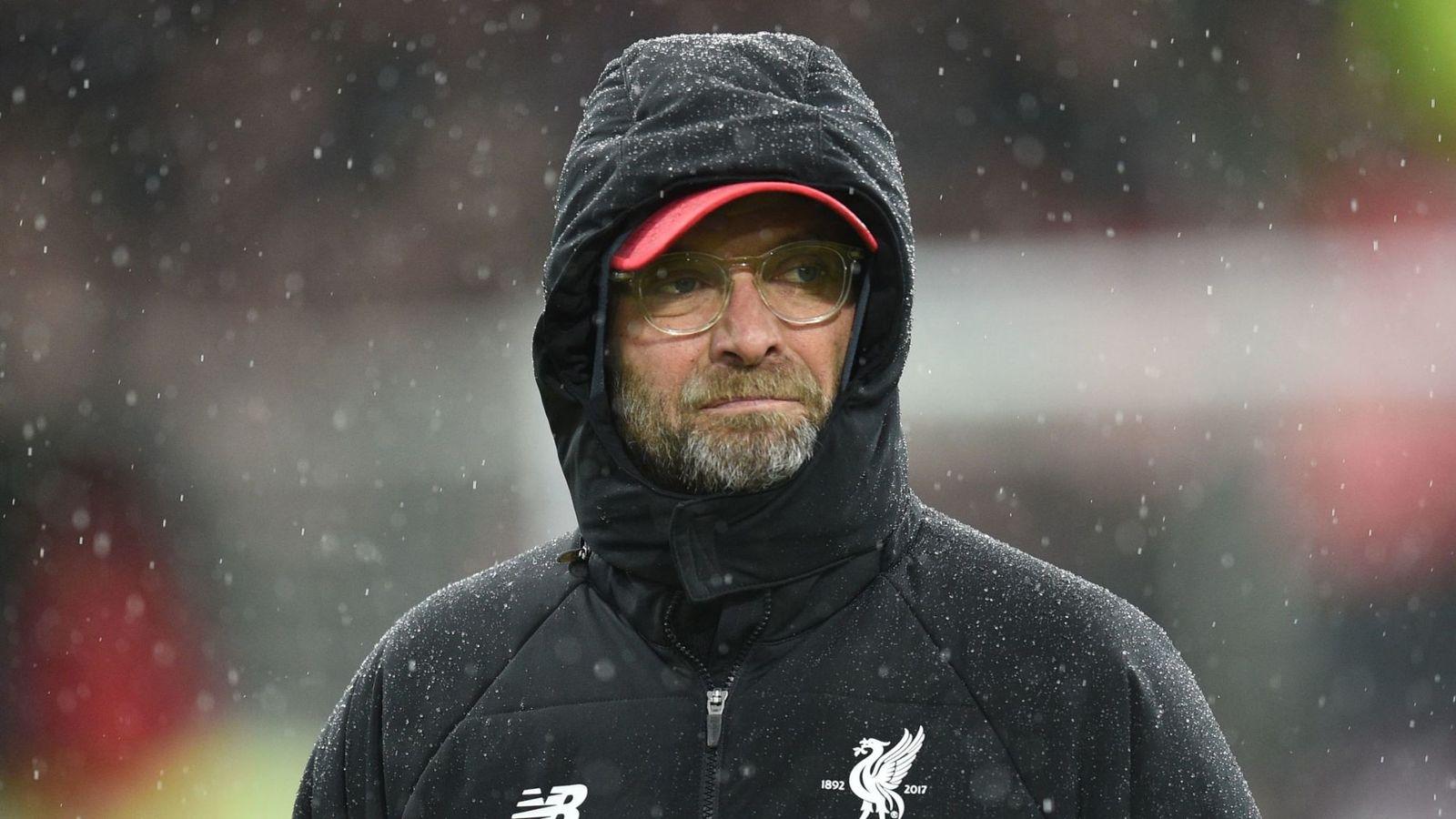 克洛普:我经纪人说天气只是开玩笑,我不会因此离开英国