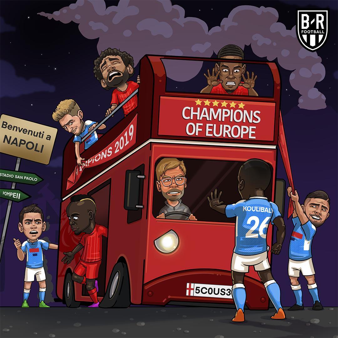 派对结束,利物浦成15年来首支输掉欧冠首轮的卫冕冠军