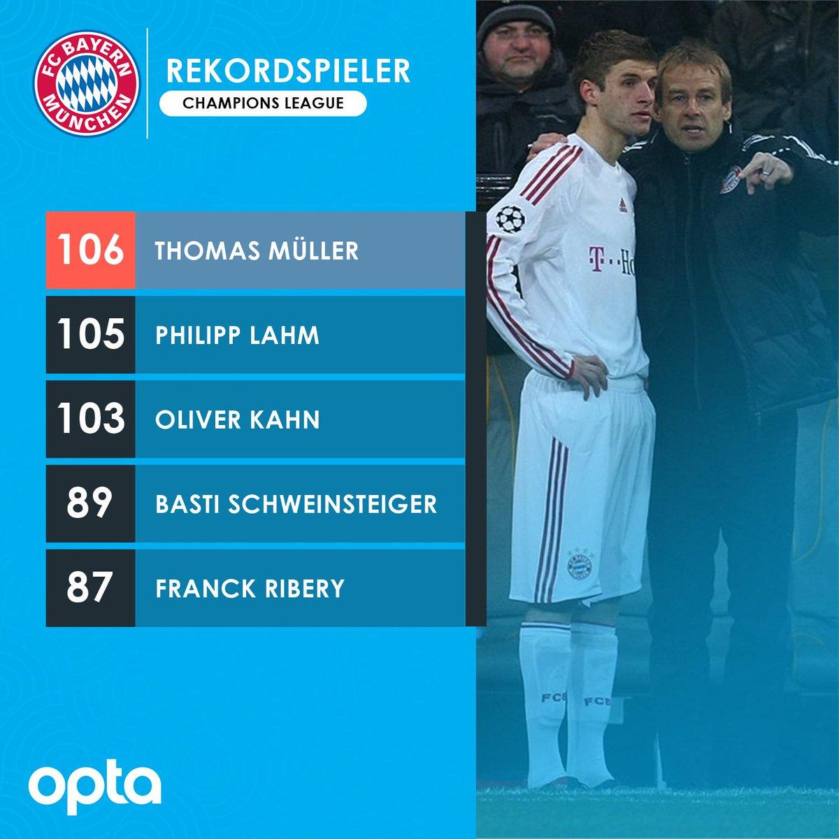 创造历史!穆勒为拜仁踢第106场欧冠,成队史第足球网址
