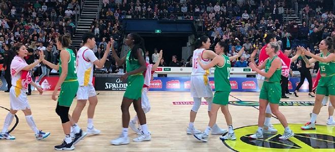 大比分不敌澳大利亚,中国女篮结束亚洲杯前最后热身