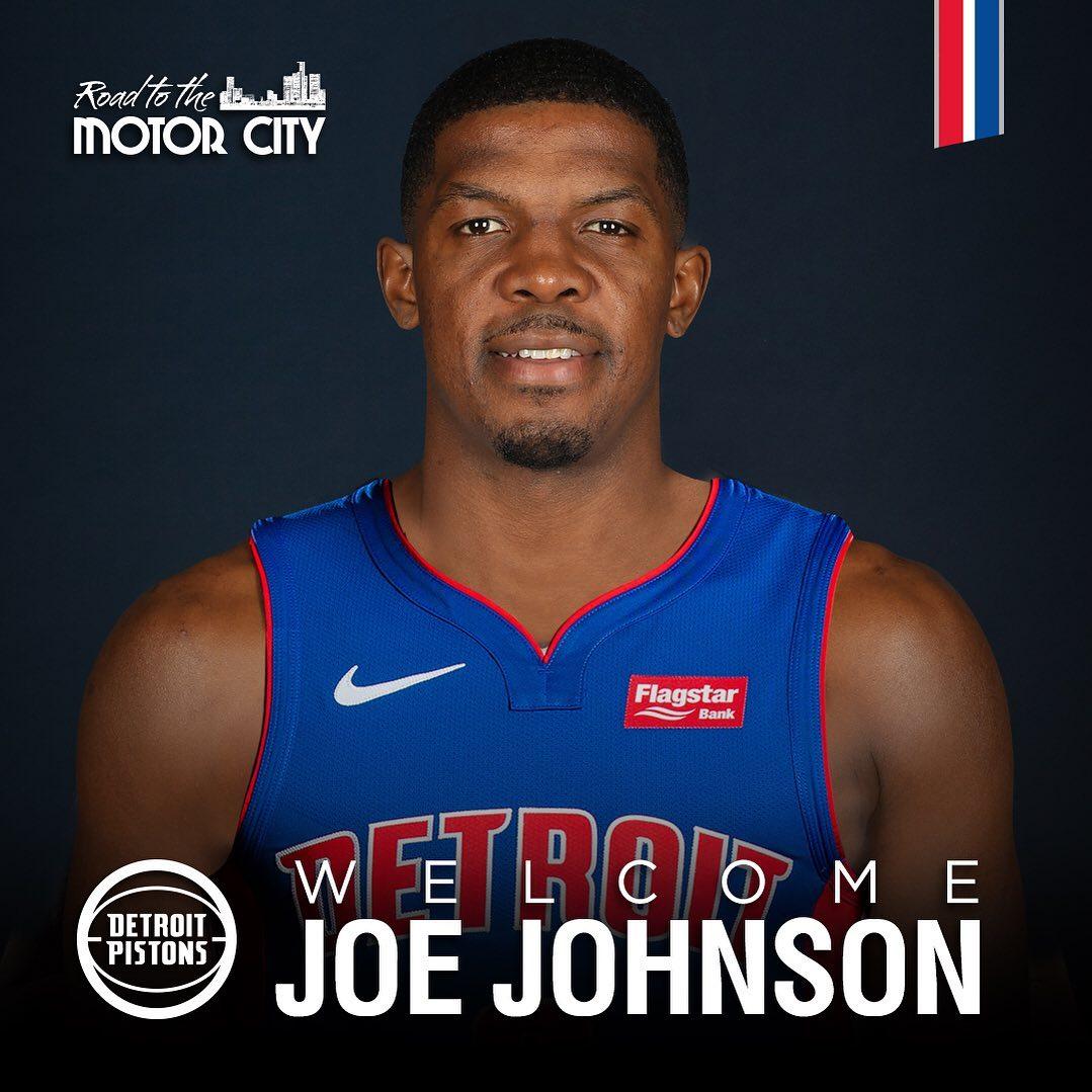 亚博-活塞官方Ins欢迎乔-约翰逊加盟球队