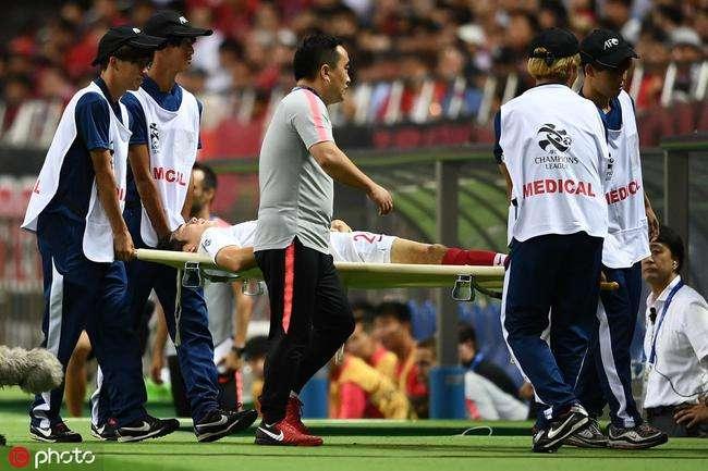 东体:左膝韧带受损,杨世元需要休整一段时间