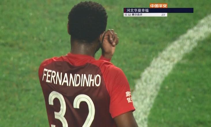 GIF:瓦格纳乌龙助攻费尔南众破门,华夏1-0泰达