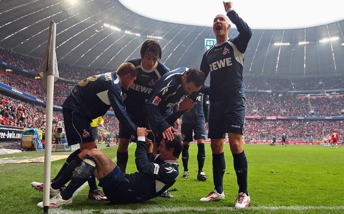 科隆历史上曾9次做客击败拜仁,排名德甲各队之始