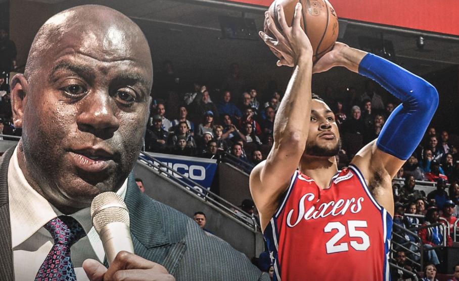 魔術強森:Ben Simmons苦練跳投是態度體現,他會技驚四座的(影)-Haters-黑特籃球NBA新聞影音圖片分享社區
