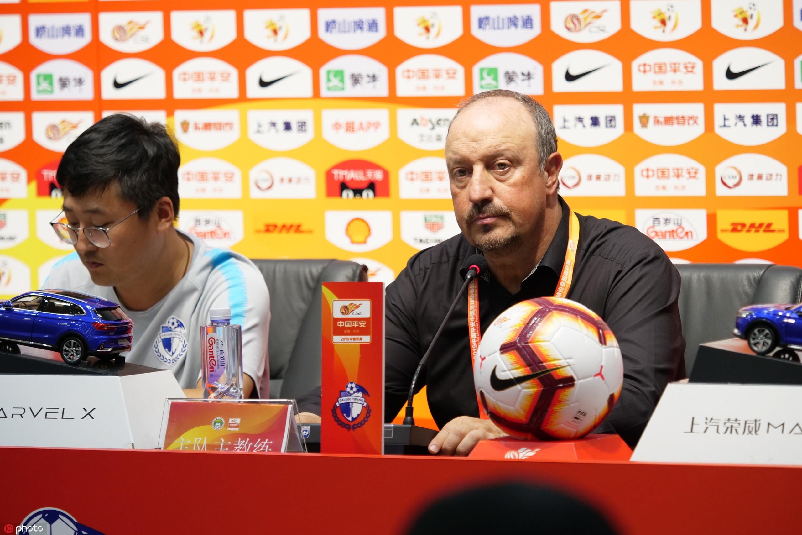 贝尼特斯:卡拉斯科更众为球队着想,年轻球员训练很益