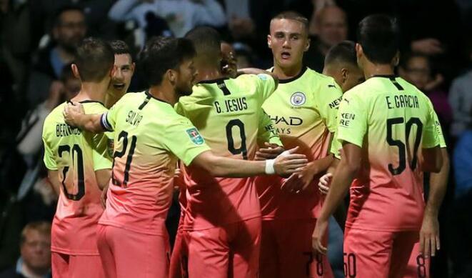 英联杯:斯特林传射炎苏斯破门,曼城客场3-0普雷斯顿