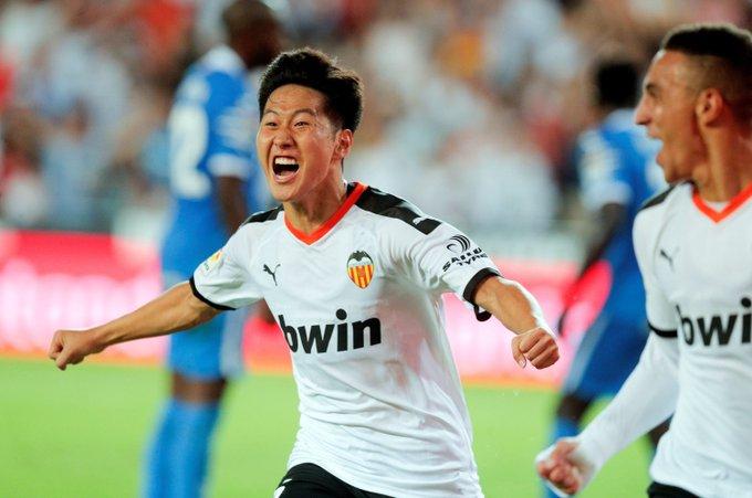 异日可期!韩国幼将李刚仁始次西甲始发即攻入处子球