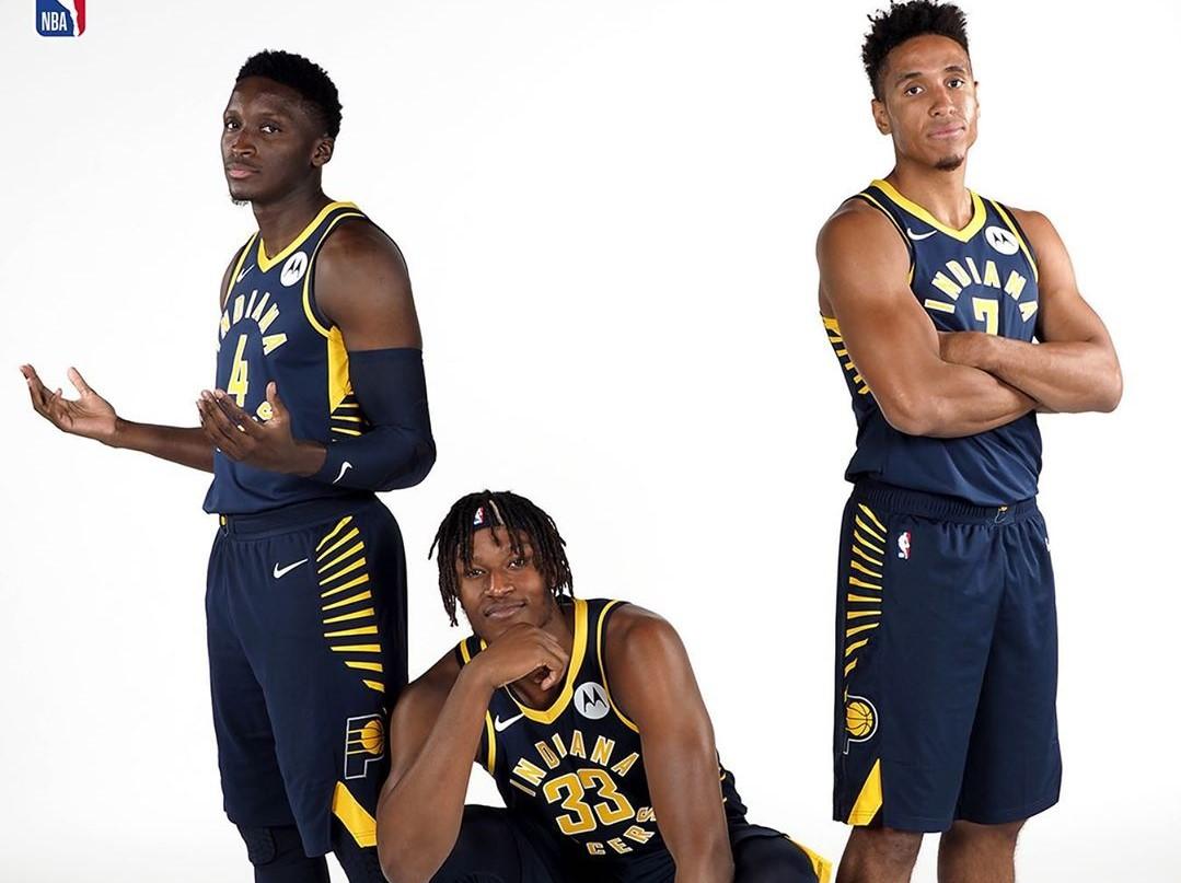 后起之秀!NBA晒步行者球员合影:要有大事发生