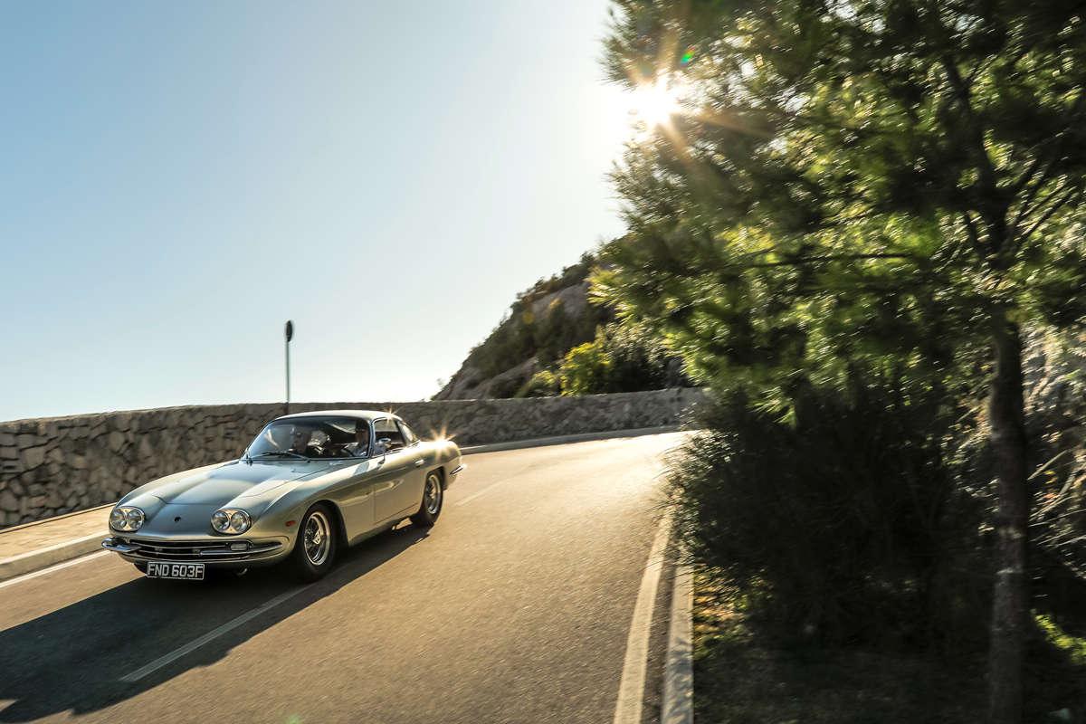 """""""兰博基尼与设计""""经典车大展最佳展品称号花落兰博基尼350 GT"""