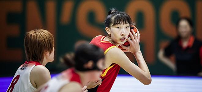 邵婷、韩旭入选本届亚洲杯最佳阵容