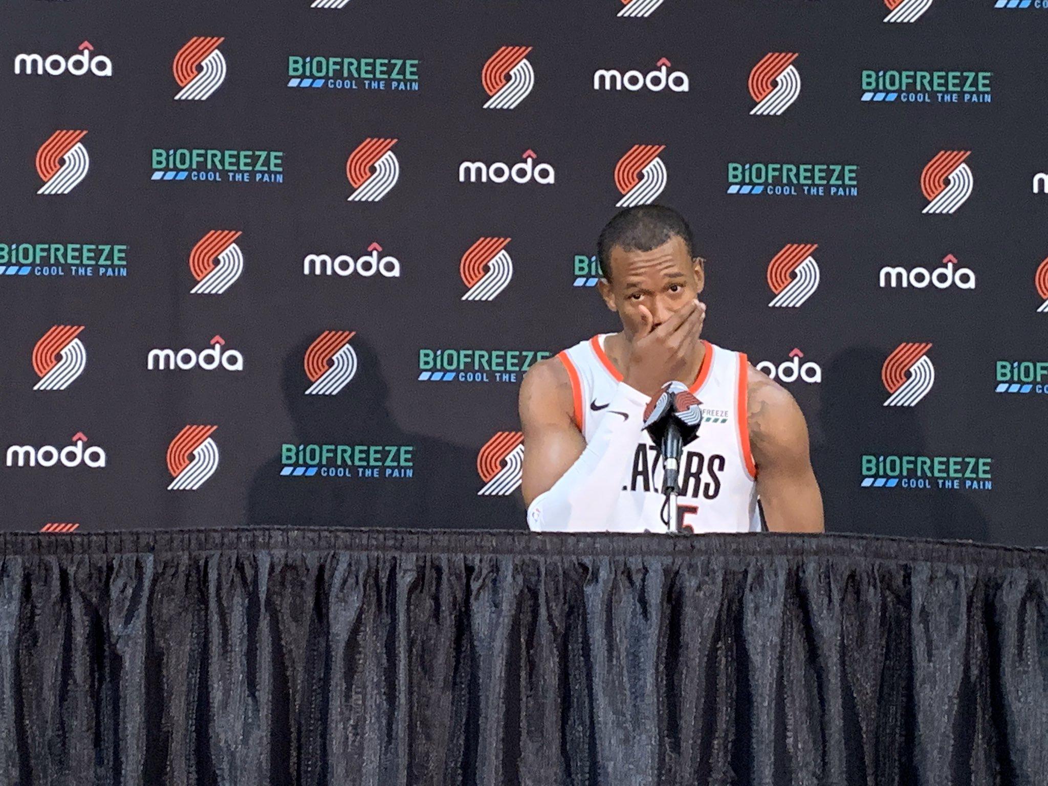 胡德 :休赛期我接到了很多球队的邀请,但是我钟爱波特兰