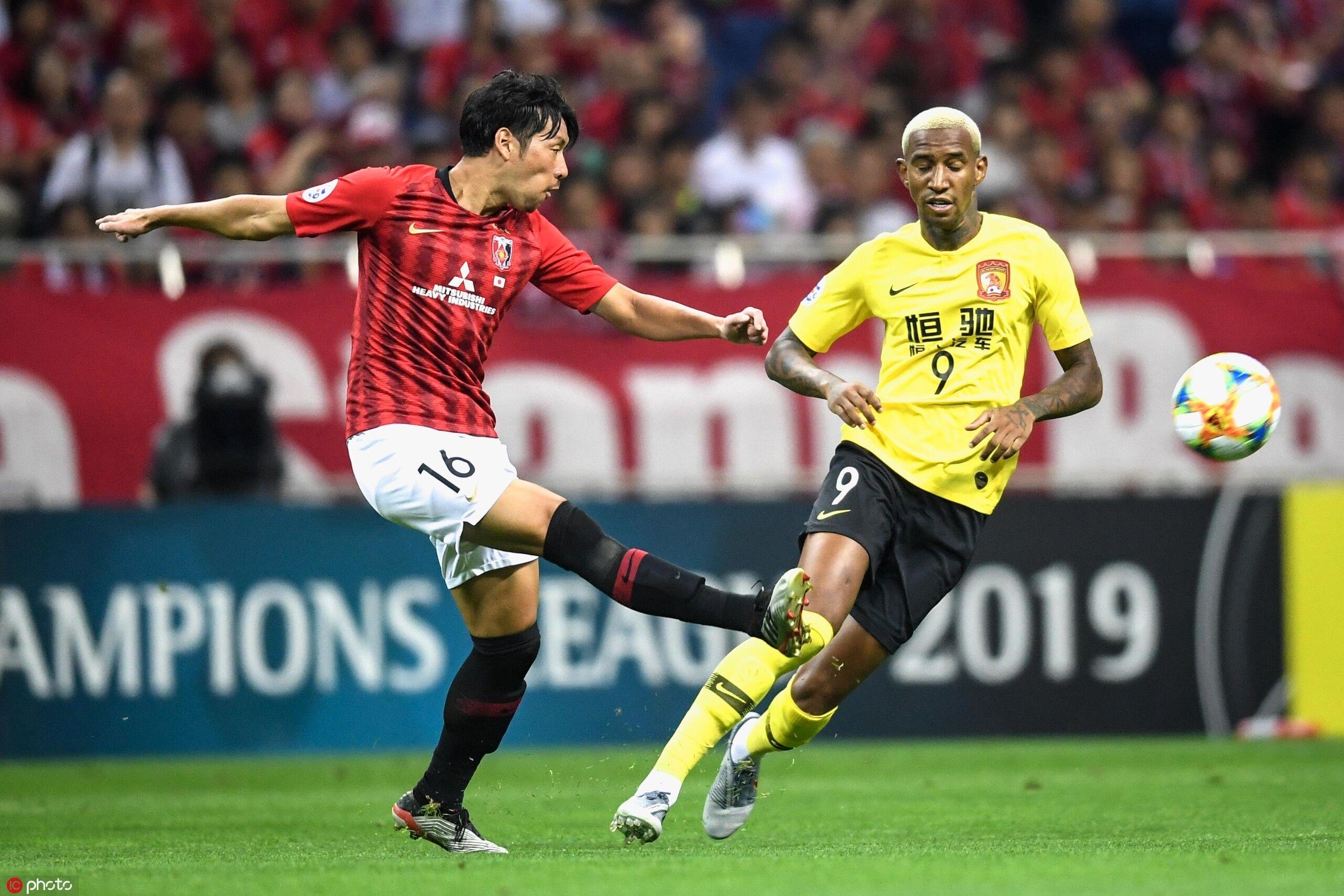 亚冠半决赛首回合:韦世豪进球无效,恒大客场0-2浦和