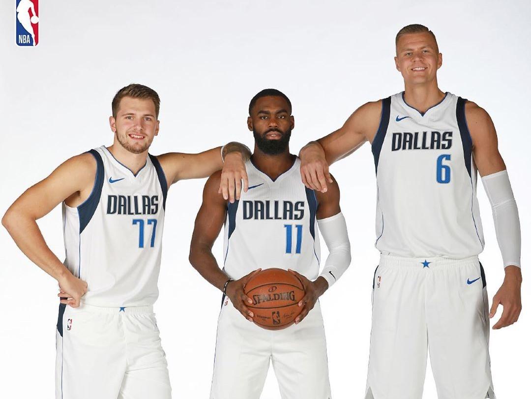 NBA晒独行侠球员照片:您对本赛季的独行侠有何期望