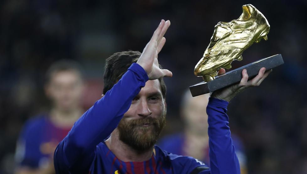 6次问鼎!梅西将在下周三获颁上赛季欧洲金靴奖