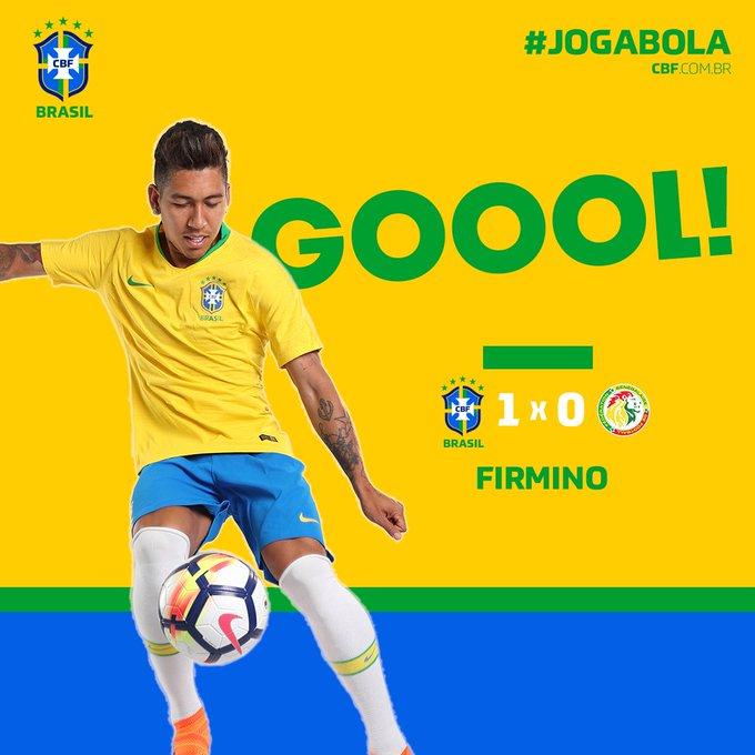 GIF:菲尔米诺抢点破门,巴西1-0塞内加尔