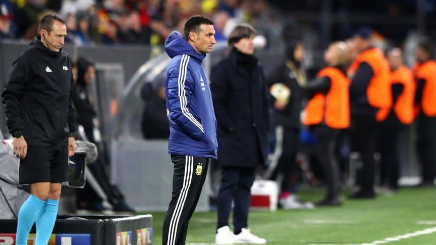 斯卡洛尼:比赛过程比结果重要,阿根廷更成熟了