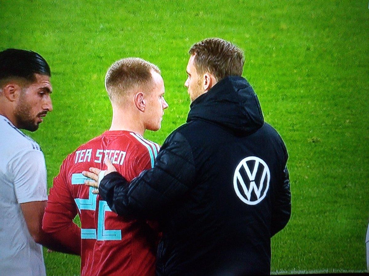 特尔施特根:能在德国踢得比赛找找感觉,我觉得非常重要
