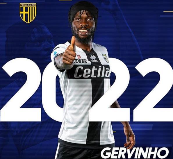 官方:帕爾馬與熱爾維尼奧完成續約,合同至2022年
