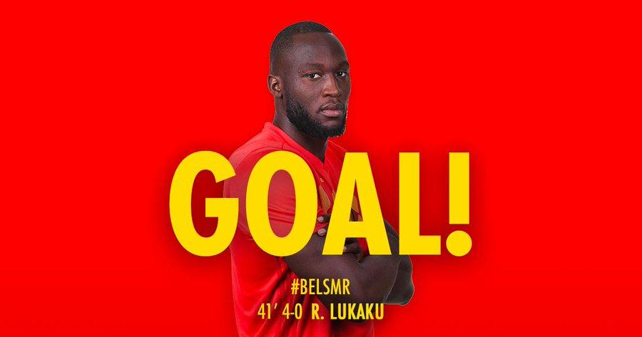 GIF:阿扎尔助攻卢卡库梅开二度,比利时四球领先