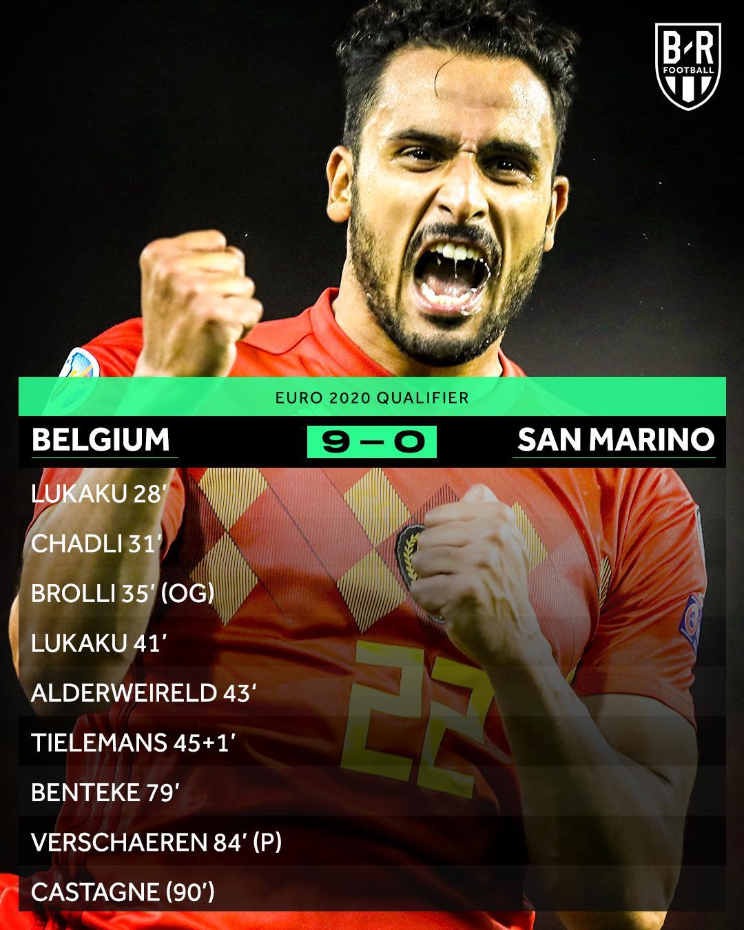 完成任务!比利时成首支晋级2020年欧洲杯决赛圈球队