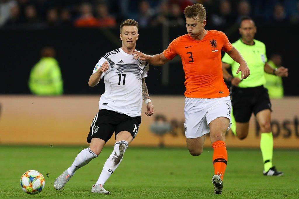 冉冉升首!德利赫特成荷兰队最年轻完善20次出场的球员
