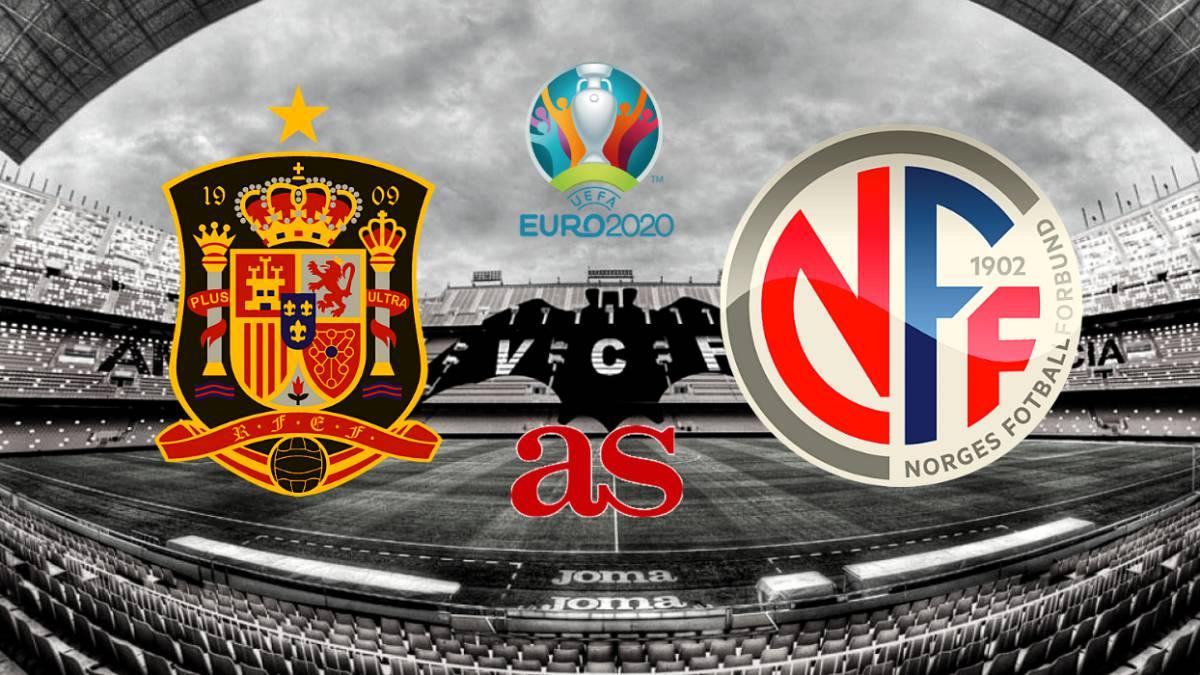 西班牙vs挪威首发:罗德里戈对阵厄德高