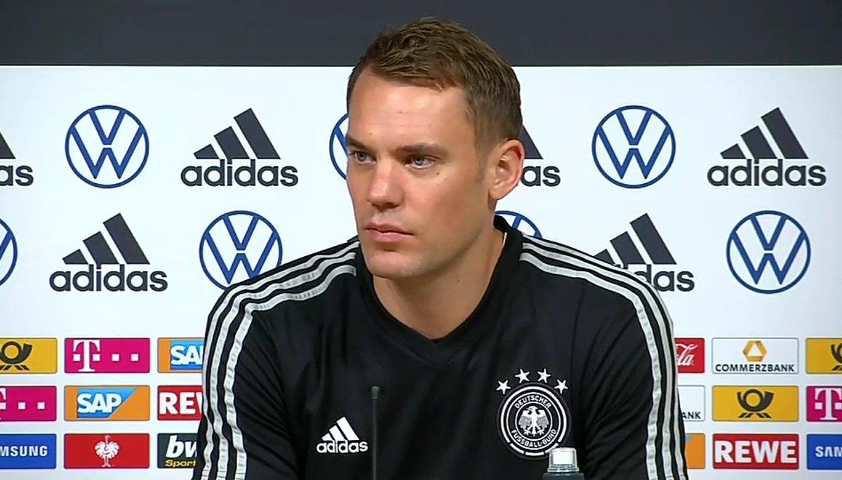 诺伊尔:我希望两场都上,不过对爱沙尼亚的比赛是正赛